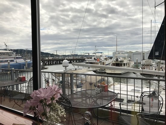 Nicki's Bella Marina: view from our table