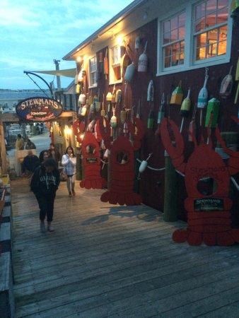 Stewman's Downtown Lobster Pound, Bar Harbor - Menu ...