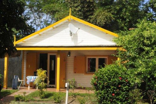 Mahavelona, Madagaskar: Villa Carambole vue de la propriété