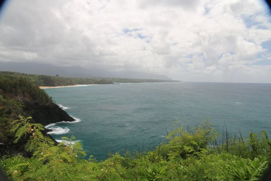 View to Princeville from Kilauea Lighthouse