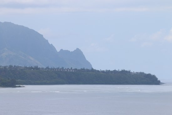 View to Mt Makana (Bali Hai) from Kilauea Lighthouse