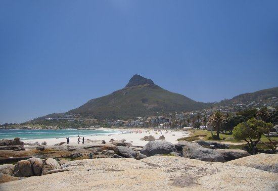 Camps Bay, Sudáfrica: Camp's Bay Beach