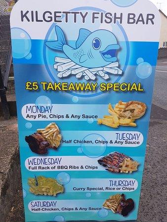 Kilgetty, UK: Kilgetty Fish Bar
