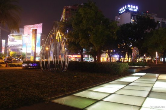 城市光廊の雰囲気