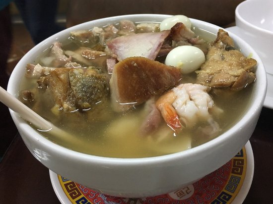 chifa chung yion - chifa union: Sopa especial