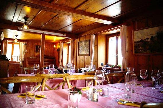 Bruson, Szwajcaria: Salle de réception