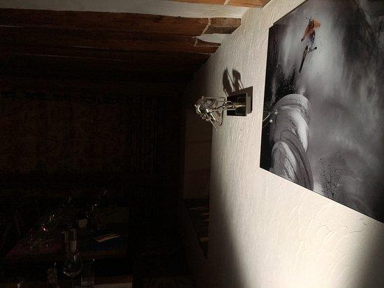 Bruson, Szwajcaria: décoration salle à manger