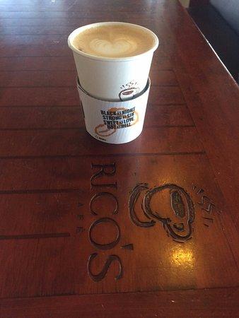 Rico's Café : O cafe com coraçao