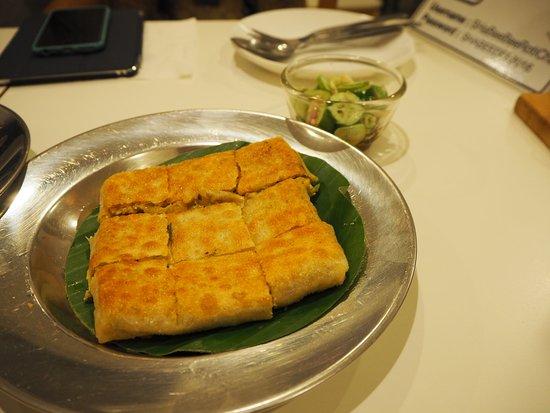ฌาบีบี โรตี~ชา: Chicken Roti (80.-)