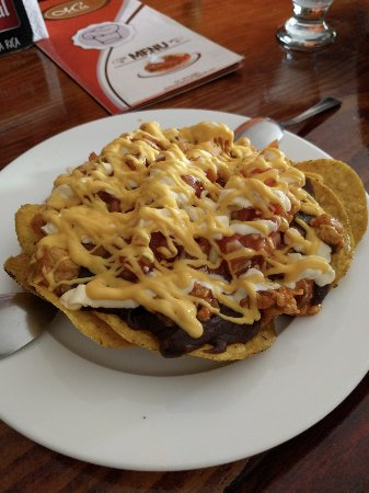 Paraiso, Коста-Рика: Restaurante Maú/Bar Chilibomba's bar snack