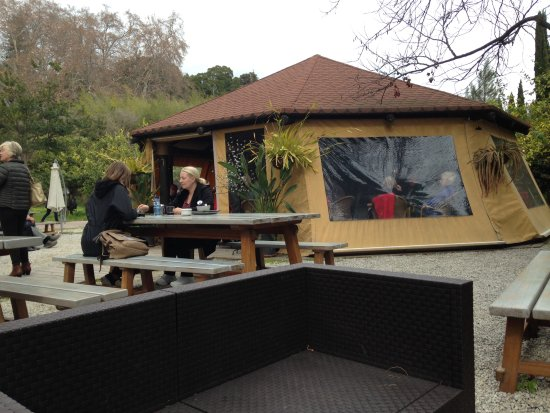 Cafeter a jard n bot nico la concepci n m laga fotos for Restaurante jardin botanico
