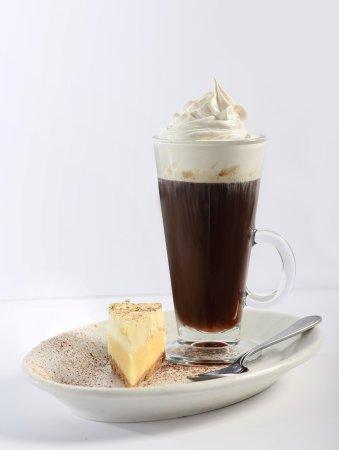 Spanish Coffee and Mini Lemon Cheesecake