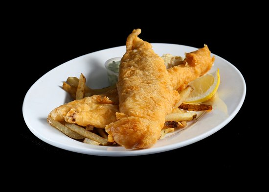 The Kasbah Mediterranean: Fish and Chips