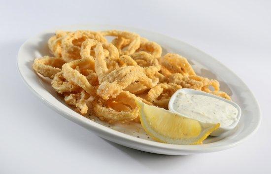 The Kasbah Mediterranean: Calamari
