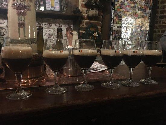 Museum of the Belgian Brewers : beer tasting