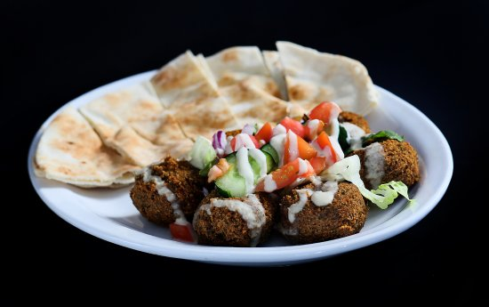 The Kasbah Mediterranean: Falafel Appetizer