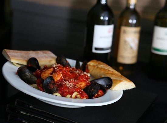 The Kasbah Mediterranean: Seafood Pasta