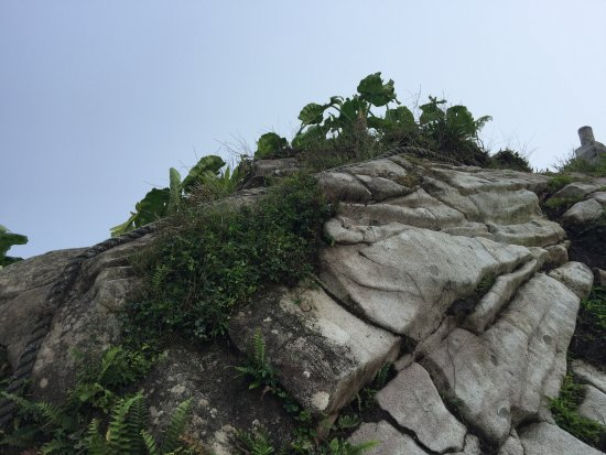 Mount Scenery: laatste stukje