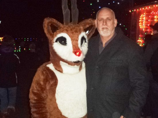 Koziar's Christmas Village : Meeting Rudolph