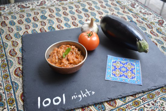 Mirza ghasemi picture of 1001 nights iranian restaurant for 1001 nights persian cuisine