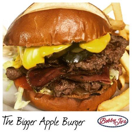Bobby Jo's  Diner: The Bigger Apple Burger