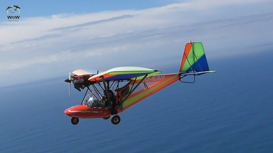 Umkomaas, Sudáfrica: Come take a joy ride in our bantam or learn to fly with us.