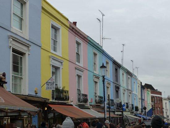 Notting Hill: portobello market