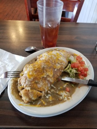 Stuffed Sopapilla from Smiling Faces Restaurant. The best I've ever had.