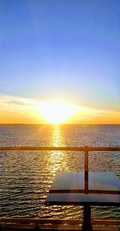 Fager's Island Restaurant & Bar: Sunsets on the bay! 2nd floor. Unmatched! Accompanied by perfectly timed music.