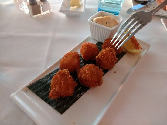 Fager's Island: Fantastic scallops and sauce