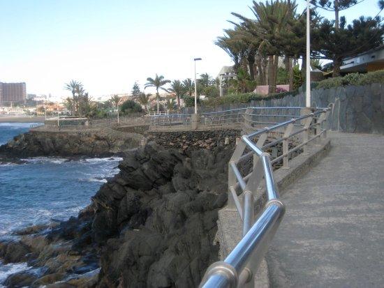 San Agustin, Spanyol: An der Steilküste