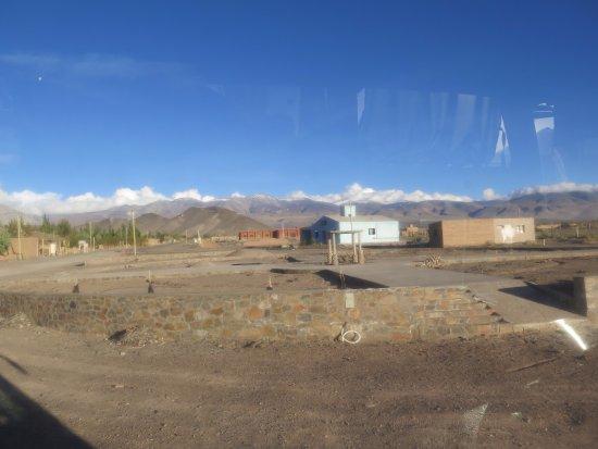 El Penon, Argentina: Plaza en construcción
