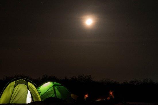 Sulina, Romania: Camping under the stars