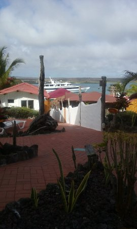 Angermeyer Waterfront Inn: view from the Pelican room