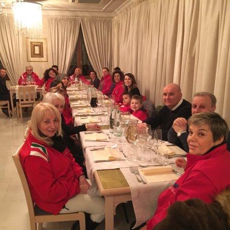 Farneta, Italie : Una ceba con i fiocchi, grazie a Moreno Bianchi, ma sopra tutto a Nicola  che ci servito  come v