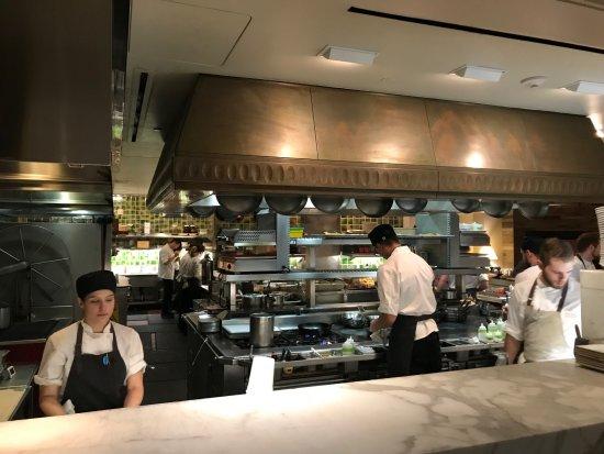 Menlo Park, CA: Open kitchen