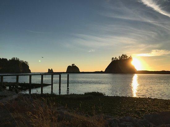 La Push, واشنطن: Sunset in La Push
