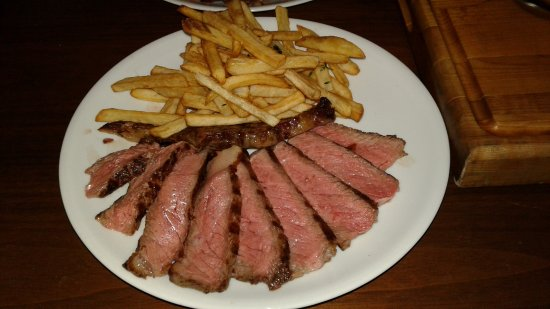 Il Gattopardo : Medium rare steak