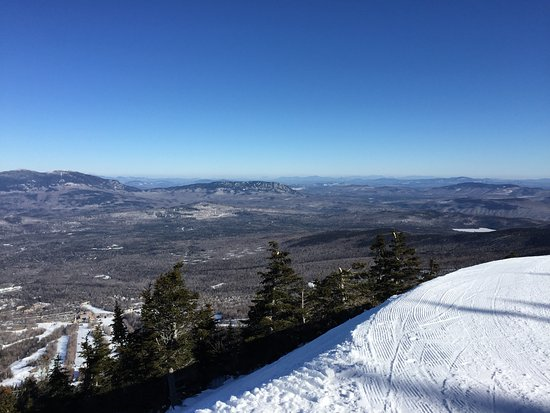Carrabassett Valley, ME: View from the top