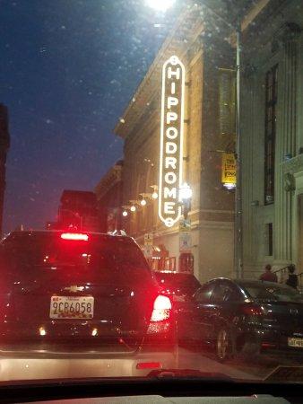 Hippodrome Theatre: signage