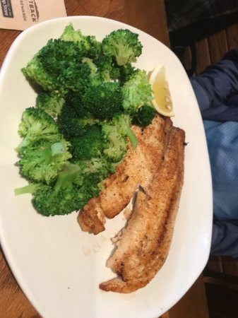 Outback Steakhouse: Simply Grilled Tilapia