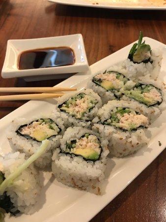 San Mateo, Californie : California sushi rolls
