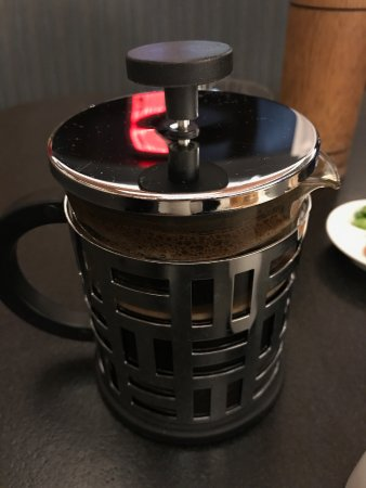 San Mateo, CA: Equator coffee (press pot)