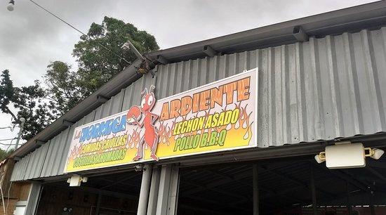 Hormigueros, Puerto Rico: Restaurant entrance