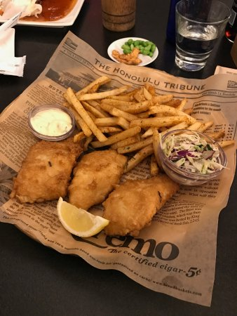 San Mateo, Kalifornien: Fish & chips