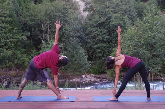 North Bend, Kanada: Yoga pose