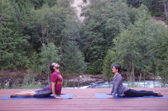 North Bend, Kanada: Yoga