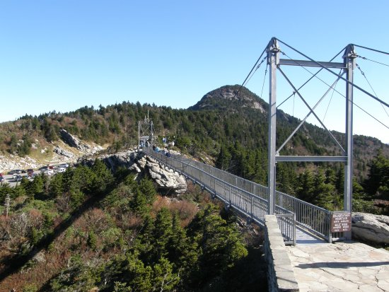 swinging bridge mile high The
