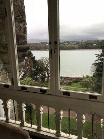 Chateau Rhianfa: From the lounge terrace