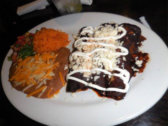 Las Brisas Mexican Restaurant Mole Enchiladas